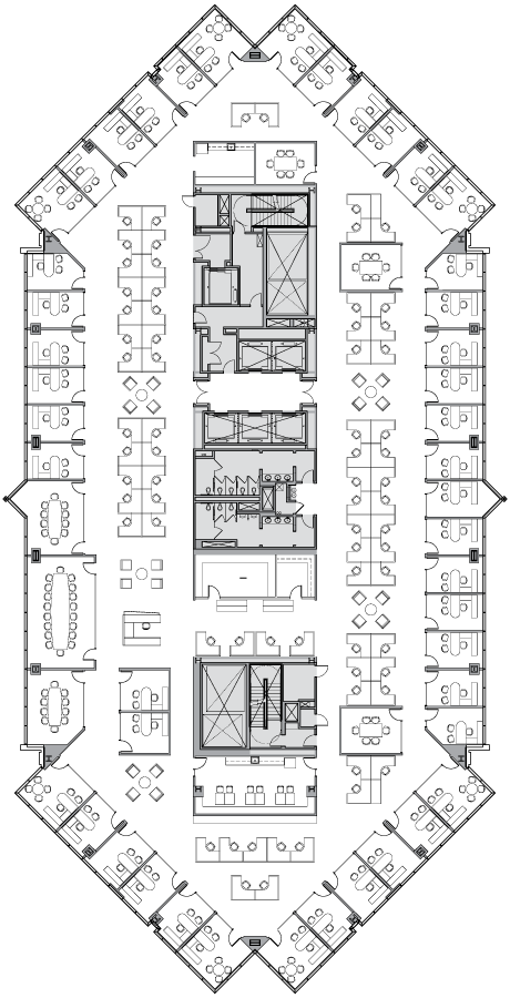 High-Rise Office Layout